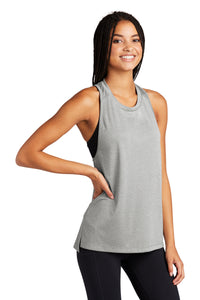 Sport-Tek ® Ladies Endeavor Tank-Light Grey Heather/ Light Grey