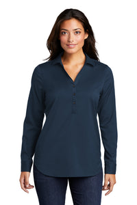 Port Authority ® Ladies City Stretch Tunic-River Blue Navy