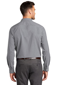 Port Authority ® City Stretch Shirt-Graphite/ White