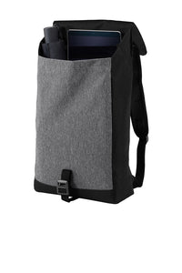 Port Authority ® Access Rucksack-Heather Grey/ Black
