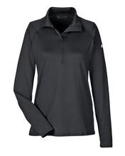 Under Armour Ladies' UA Tech™ Quarter-Zip-BLACK