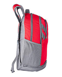 ALUMNI Under Armour Unisex Hustle II Backpack-RED