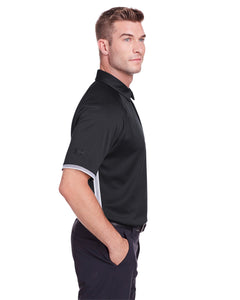Under Armour Mens Corporate Rival Polo-BLACK
