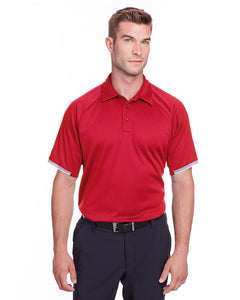 Under Armour Mens Corporate Rival Polo-RED