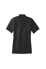 Port Authority® Ladies Silk Touch™ Polo-Black