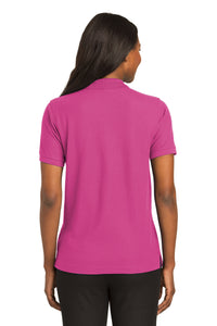 Port Authority® Ladies Silk Touch™ Polo-Tropical Pink