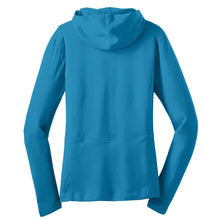 Port Authority® Ladies Modern Stretch Cotton Full-Zip Jacket BLUE