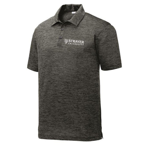 Electric Heather Polo GRAY BLACK