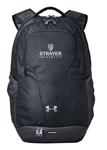 Under Armour Unisex Hustle II Backpack-BLACK