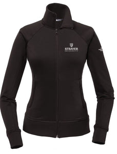 The North Face ® Ladies Tech Full-Zip Fleece Jacket-BLACK