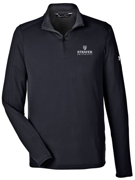 Under Armour Men's UA Tech™ Quarter-Zip-BLACK