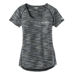 OGIO® ENDURANCE Ladies Verge Scoop Neck BLACKTOP