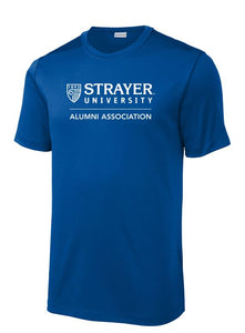 ALUMNI MEN'S Sport-Tek ® Posi-UV ™ Pro Tee ROYAL