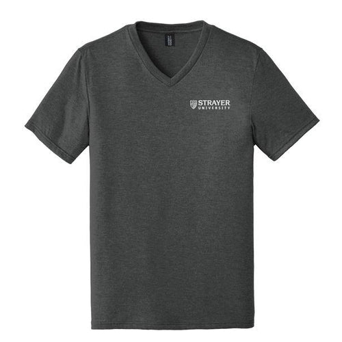 Mens Perfect Tri® V-Neck Tee BLACK FROST