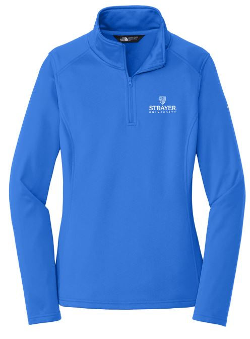 The North Face® Ladies Tech 1/4-Zip Fleece-MONSTER BLUE