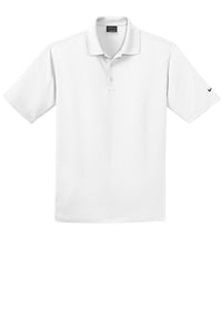 MEN'S Nike Golf Dri-FIT Micro Pique Polo-White