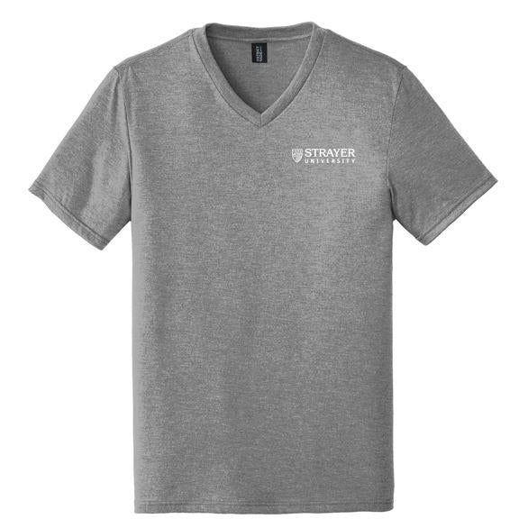 Mens Perfect Tri® V-Neck Tee GRAY FROST