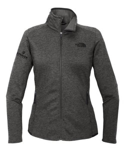 The North Face ® Ladies Skyline Full-Zip Fleece Jacket-DARK GREY HEATHER