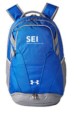 SEI Under Armour Unisex Hustle II Backpack-BLUE
