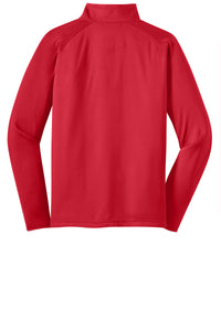 MEN'S Sport-Wick® Stretch 1/2-Zip Pullover RED