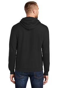 Port & Company® Core Fleece Pullover Hooded Sweatshirt-Black