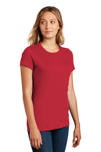 District ® Women's Perfect Weight ® Tee-Classic Red