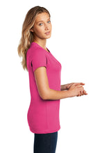 District ® Women's Perfect Weight ® Tee-Dark Fuchsia