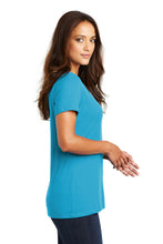 District ® Women's Perfect Weight ® V-Neck Tee-Bright Turquoise