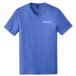Mens Perfect Tri® V-Neck Tee ROYAL FROST