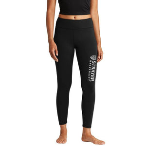 Ladies Sport-Tek® 7/8 Legging BLACK