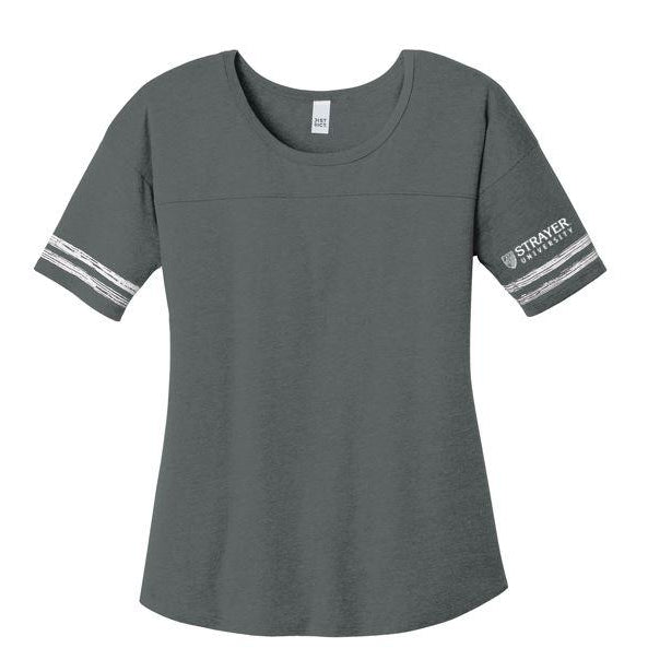 Ladies Scorecard Tee HEATHERED CHARCOAL