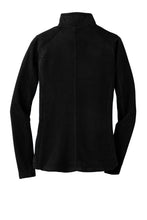Ladies Microfleece Jacket BLACK