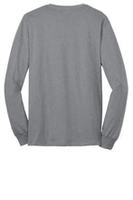 MEN'S Port & Company® - Long Sleeve Core Blend Tee-ATHLETIC HEATHER