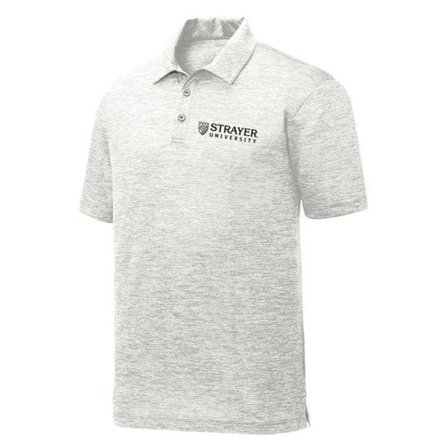 Electric Heather Polo SILVER GRAY