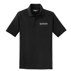 MEN'S Dry Zone® Raglan Polo BLACK