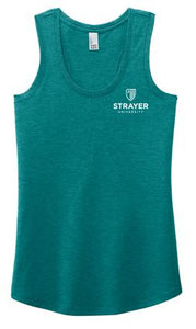 District ® Women's Perfect Tri ® Racerback Tank-Heathered Teal