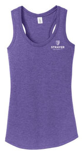 District ® Women's Perfect Tri ® Racerback Tank-Purple Frost