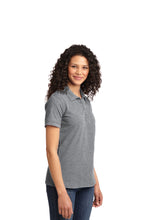 Port & Company® Ladies Core Blend Pique Polo-Athletic Heather