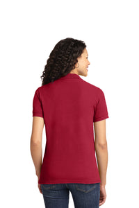 Port & Company® Ladies Core Blend Pique Polo-Red