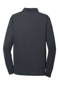 CornerStone Select Snag-Proof Long Sleeve Polo - Charcoal