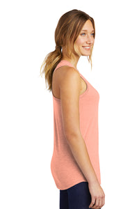 District ® Women's Perfect Tri ® Racerback Tank-Heathered Dusty Peach