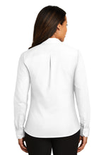 SEI - Red House Ladies Non-Iron Twill Shirt - White