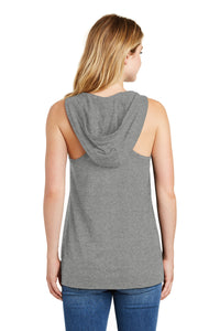 New Era® Ladies Heritage Blend Hoodie Tank-Shadow Grey Heather