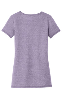 Ladies Tri-Blend Performance Scoop Tee PURPLE