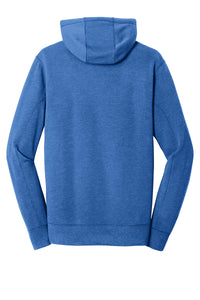 MEN'S New Era® Tri-Blend Fleece Pullover Hoodie-ROYAL