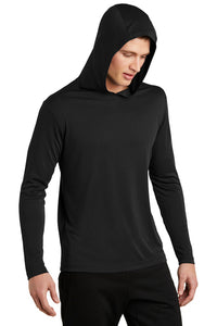 MEN'S Sport-Tek ® PosiCharge ® Competitor ™ Hooded Pullover BLACK
