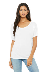 BELLA+CANVAS Women's Slouchy Tee - White