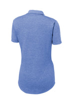 SEI - Sport-Tek Ladies PosiCharge Tri-Blend Wicking Polo - True Royal Heather