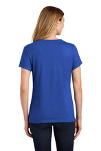 SEI - Port & Company Ladies Fan Favorite Blend V-Neck Tee - True Royal Heather