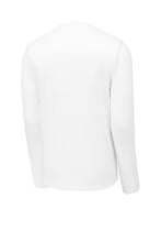 Sport-Tek Posi-UV Pro Long Sleeve Tee - White